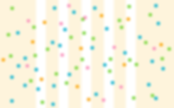 NPE - Web Panel Wide Confetti Stripes Be