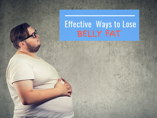 Effective Ways to Lose Belly Fat