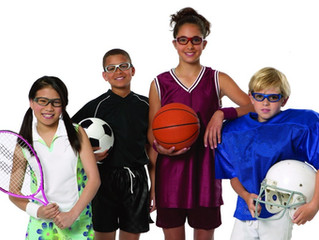 April is Sports Eye Safety Month