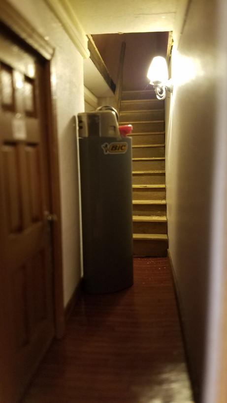 Hallway outside 31C