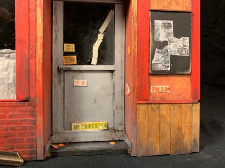 Door, detail