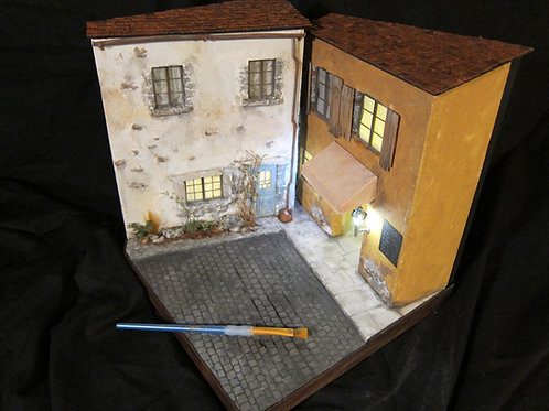 Rustic House (1:24 scale): Build it Yourself Tutorial Guide