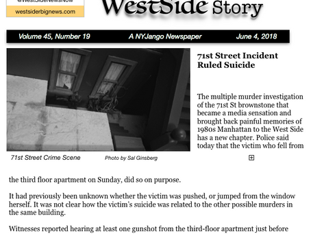 Occurrence at West 71st Street: Crime Investigation