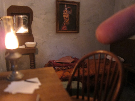 Jonathan Harker's Room