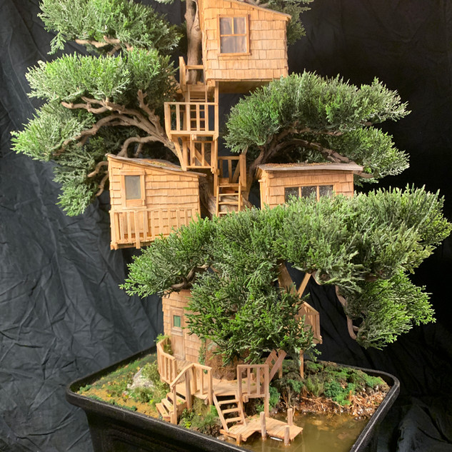 Bonsai treehouse (available)