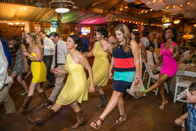 Dancing in Our Rustic Barn
