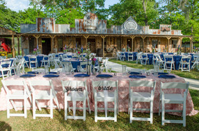 Outdoor Reception- Old Western Town