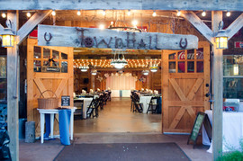 Rustic Barn Entry