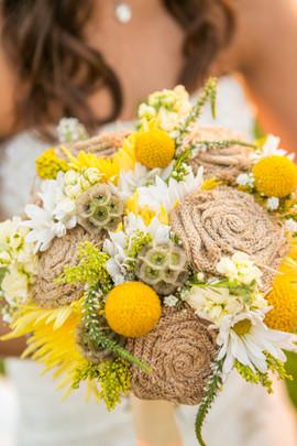 Burlap Bouquet
