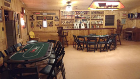 Casino Tables in Saloon