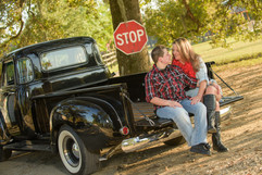 Truck for Engagement Photos