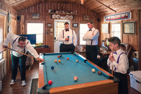 Groom's Cabin Pool Table
