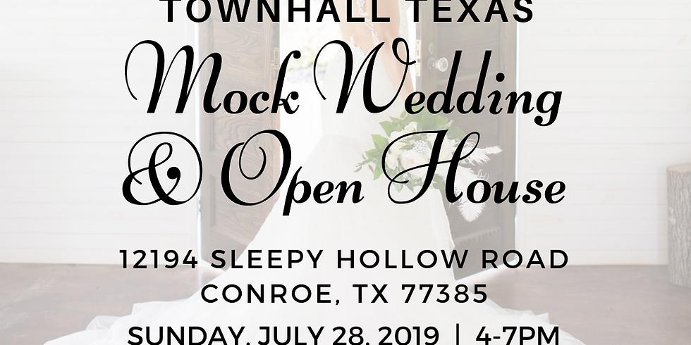 Mock Wedding & Open House- Summer 2019