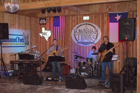 Band in the Rustic Barn