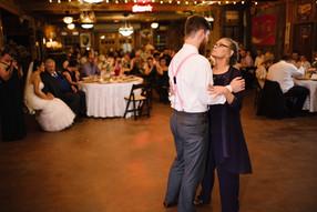 Dance Floor in Rustic Barn