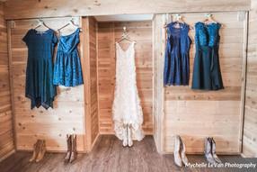 Bridal Cabin Closets