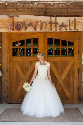 Barn Doors on Rustic Barn