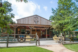 Front of Rustic Barn