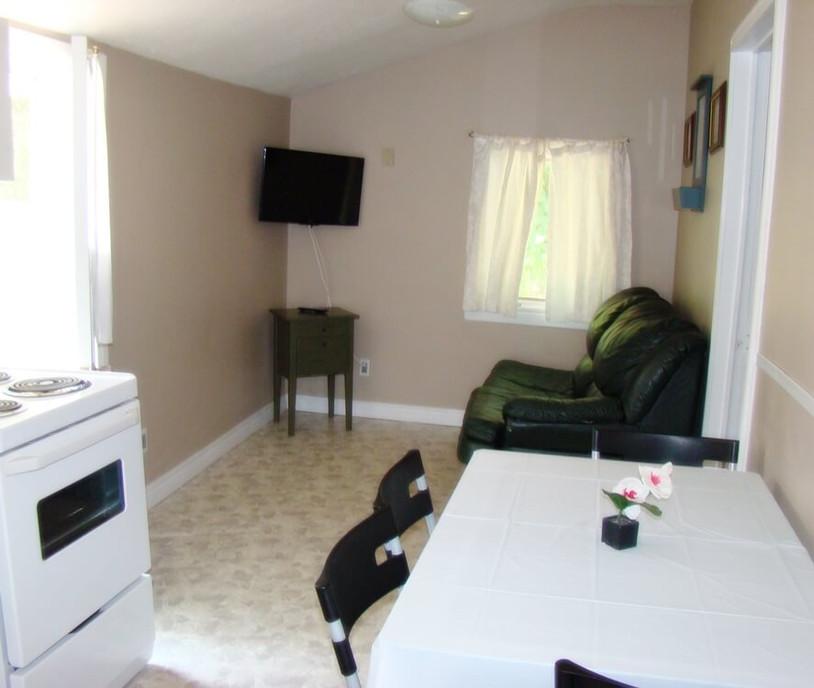 Cottage 3 Living room/kitchen
