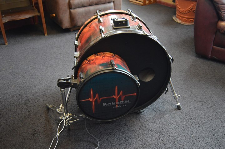 Drum wrap sub-kick