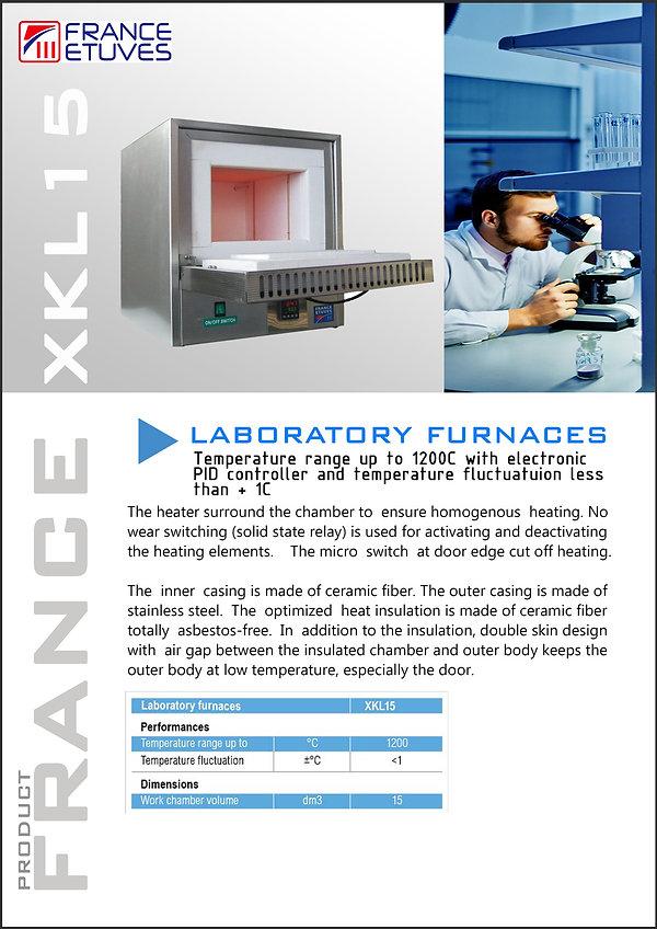 Oven France XKL15 Catalogue