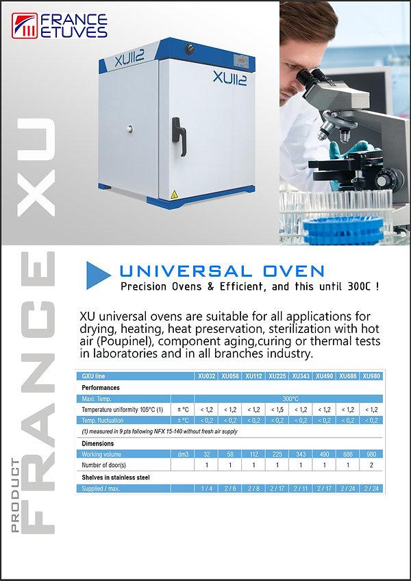 Oven France XU Catalogue