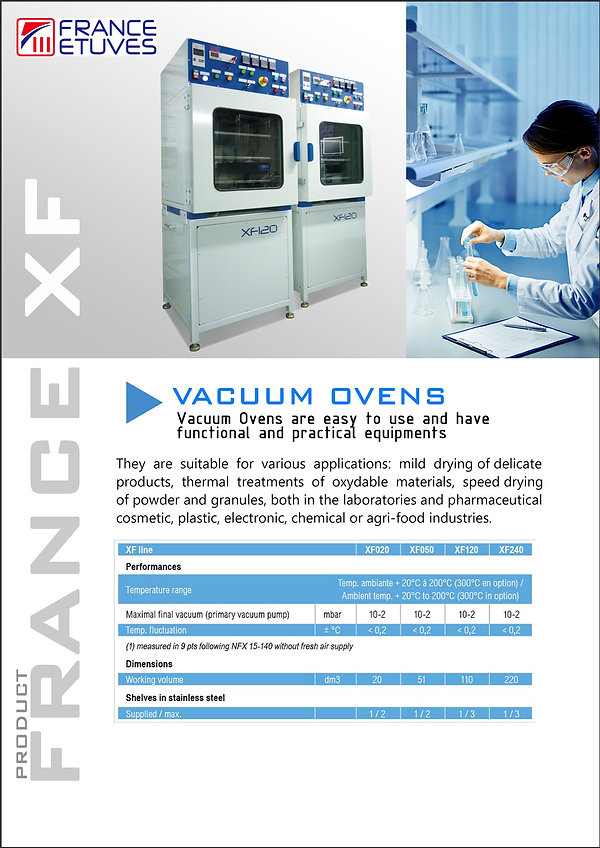 Oven France XF Catalogue