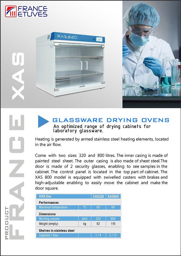 Oven France XAS Catalogue