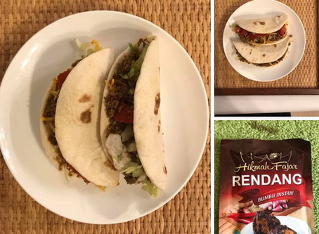Taco Rendang??? Does it even exist?