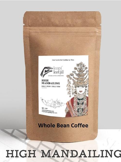 Mandailing Coffee (Whole Bean)