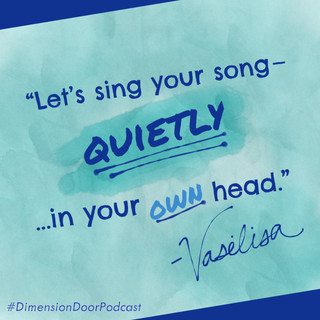 Sing in your head