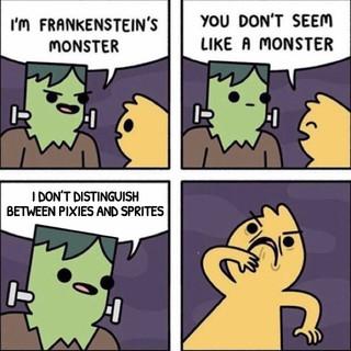 Meme- The Real Monster