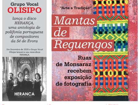 Novo disco do Olisipo - HERANÇA - no Diário do Sul