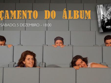 Lançamento do novo disco HERANÇA - 5 Dezembro 2020
