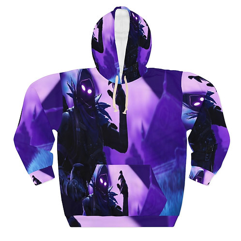 Fortnite Animated    AOP Unisex Pullover Hoodie