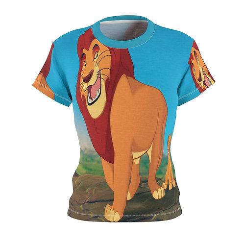 The Lion King Women's AOP Cut & Sew Tee