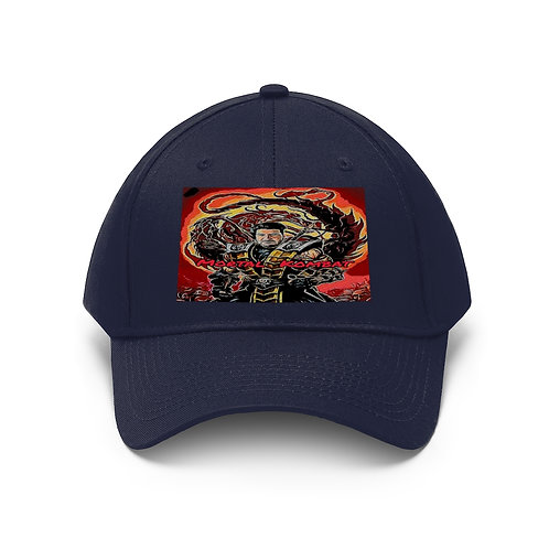 Shalom Kolontarov Artist Mortal Kombat Unisex Twill Hat