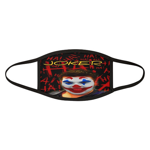 Shalom Kolontarov Artist Joker Mixed-Fabric Face Mask Unisex