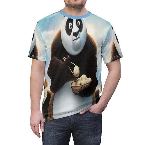 Kung Fu Panda Unisex AOP Cut & Sew Tee