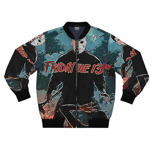 Shalom Kolontarov  Artist Friday The 13th Men And Woman Bomber Jacket