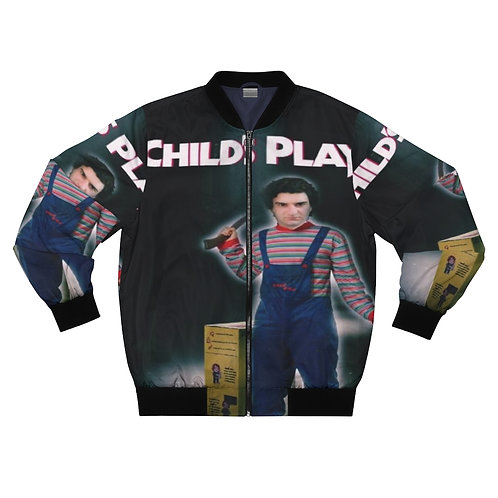 Shalom Kolontarov Artist Child's Play Men And Woman Bomber Jacket