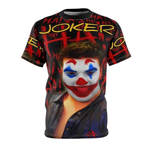 Shalom Kolontarov Artist Joker Unisex AOP Cut & Sew Tee