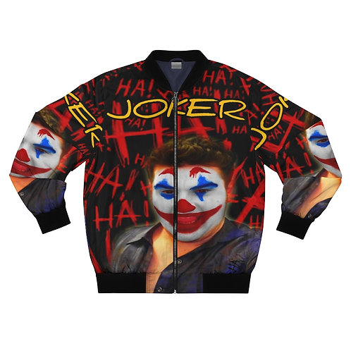 Shalom Kolontarov Artist Joker Men And Woman  Bomber Jacket