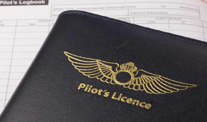 Pilot's License Folder