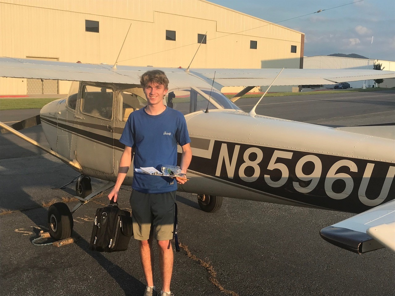 Student's first solo cross-country!