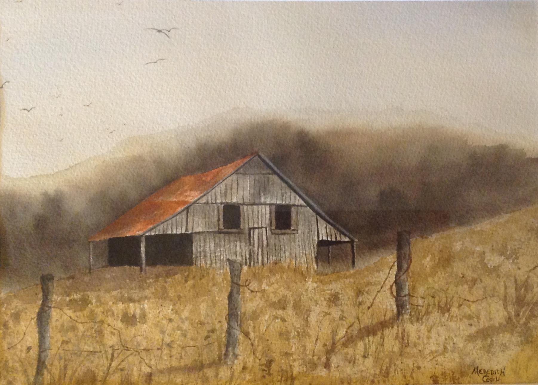 """Abandoned Barn"""