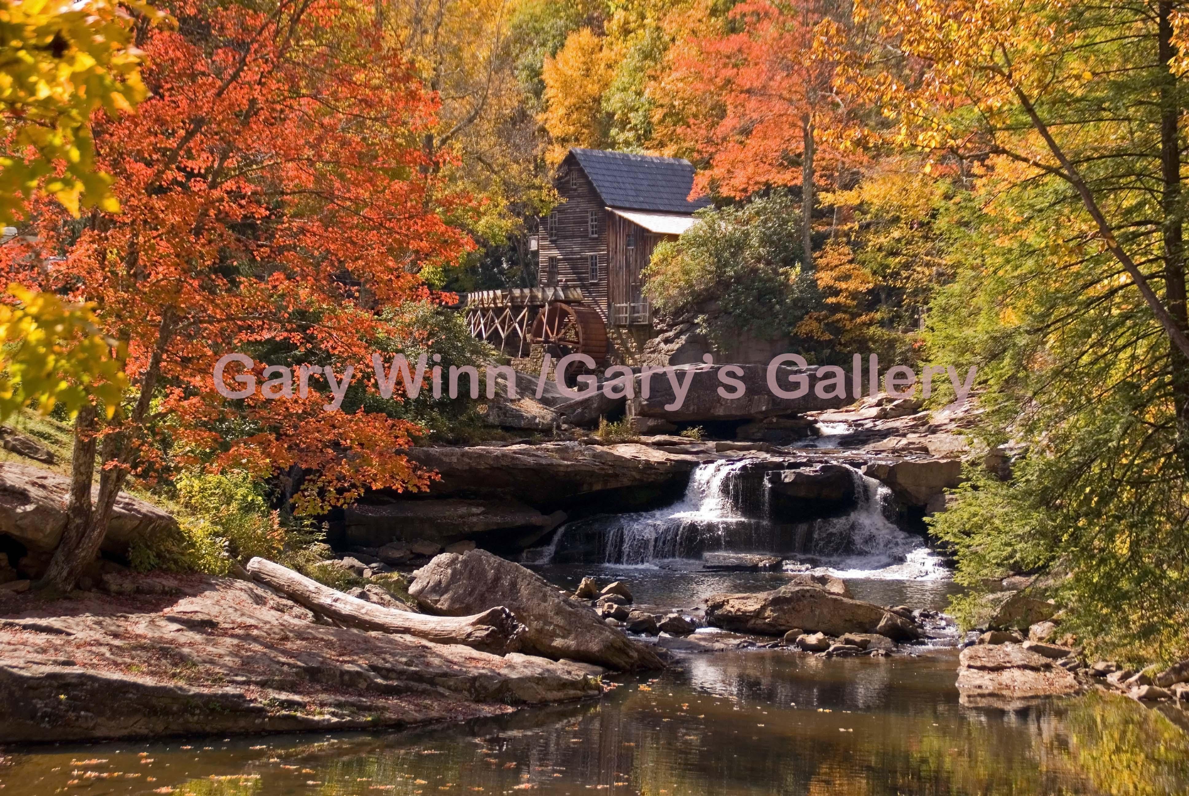 Glade Creek in Fall