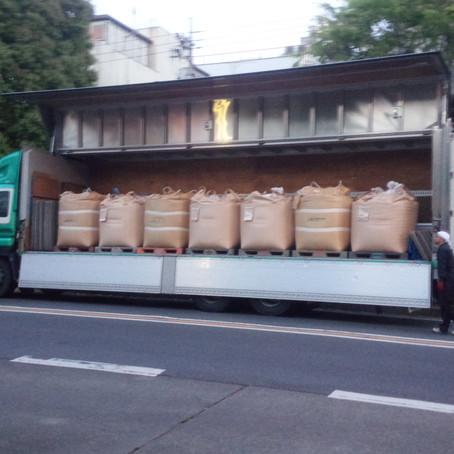 各産地より続々玄米が入荷しています!