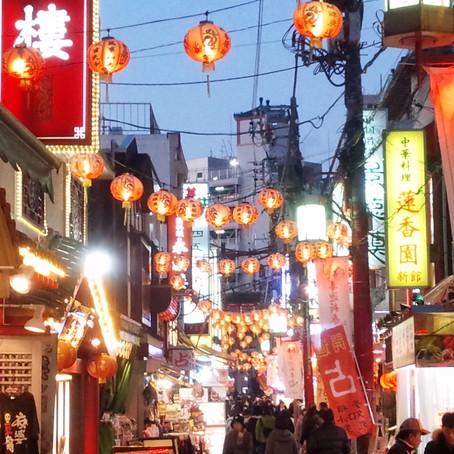 ぶらり夕暮れの横浜中華街