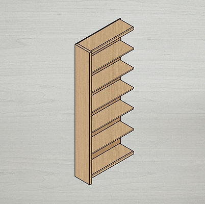 Add-on Medium Bookshelf - Left